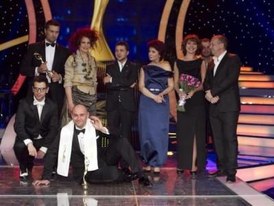 Вручение Народной премии «Телезвезда»